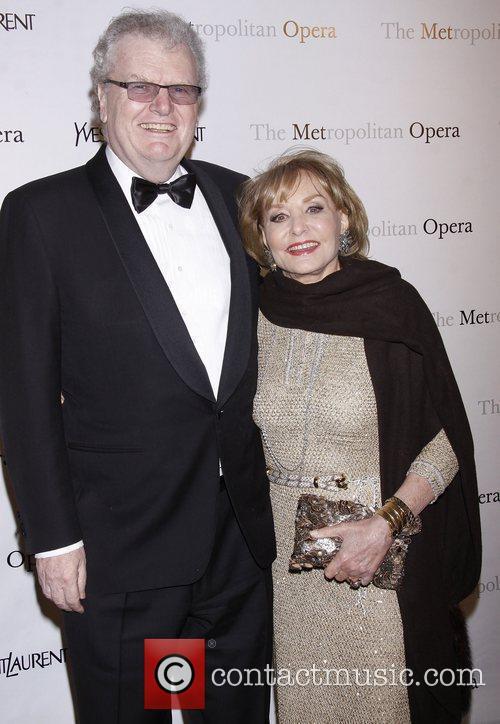 Howard Stringer and Barbara Walters  The Metropolitan...