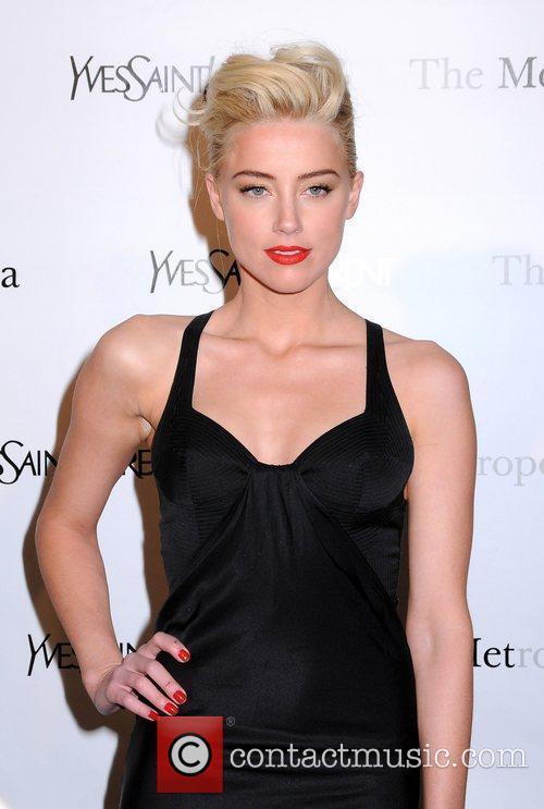 Amber Heard The Metropolitan Opera's premiere of 'Jules...