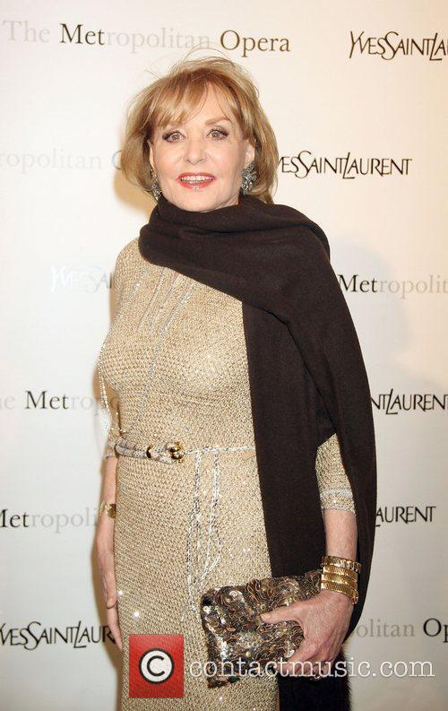 Barbara Walters,  at the Metropolitan Opera's premiere...