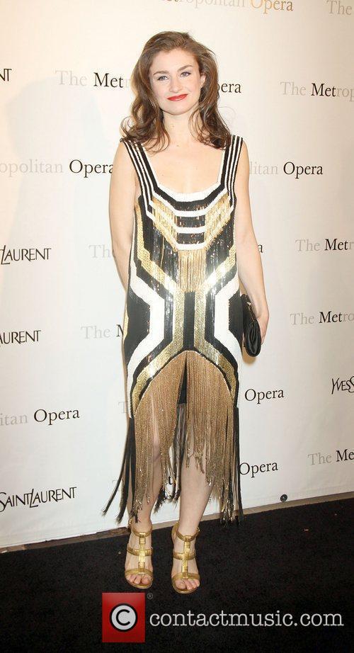 Chloe Malle,  at the Metropolitan Opera's premiere...