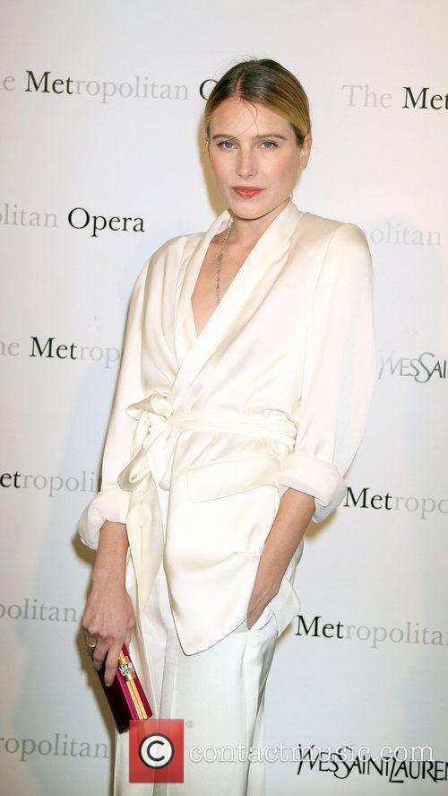 Dree Hemingway,  at the Metropolitan Opera's premiere...