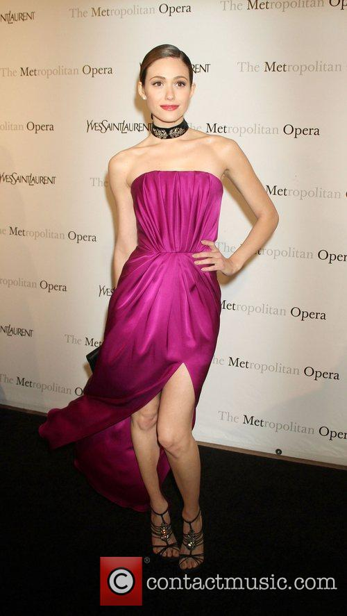 emmy rossum at the metropolitan operas premiere 3800794