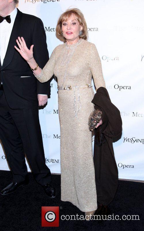 Barbara Walters  Metropolitan Opera's premiere of 'Jules...