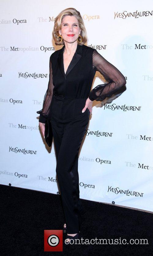 Christine Baranski  Metropolitan Opera's premiere of 'Jules...