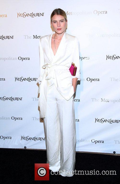 Dree Hemingway  Metropolitan Opera's premiere of 'Jules...