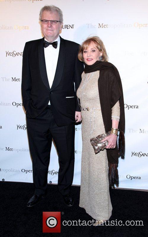 Howard Stringer and Barbara Walters  Metropolitan Opera's...