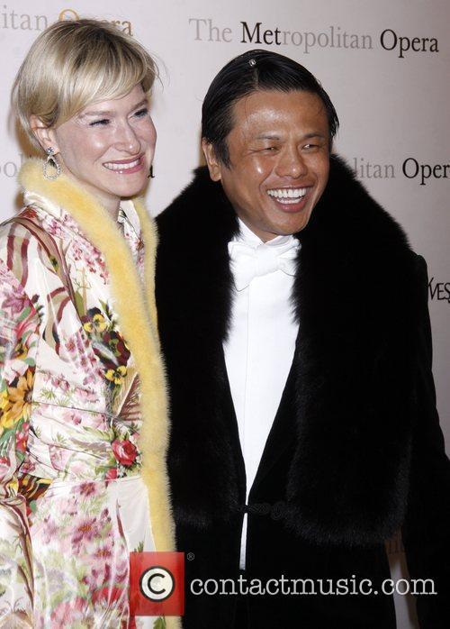 Julie Macklowe and Zang Toi  Yves Saint...