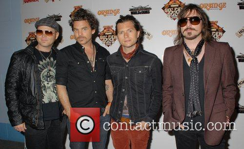 Rival Sons,  The Metal Hammer Golden Gods...