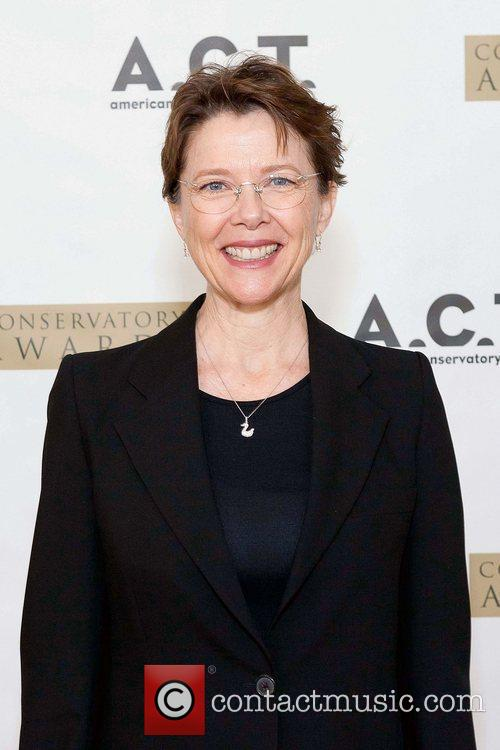 Annette Bening at the American Conservatory Theater hosting...