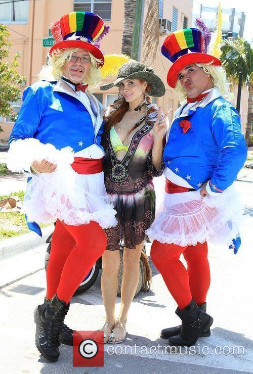 Phoebe Price attends the Miami Beach Gay Pride...