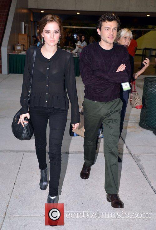 Zoey Deutch and Alden Ehrenreich