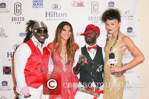 Miami Heat season opener party hosted by Mario...