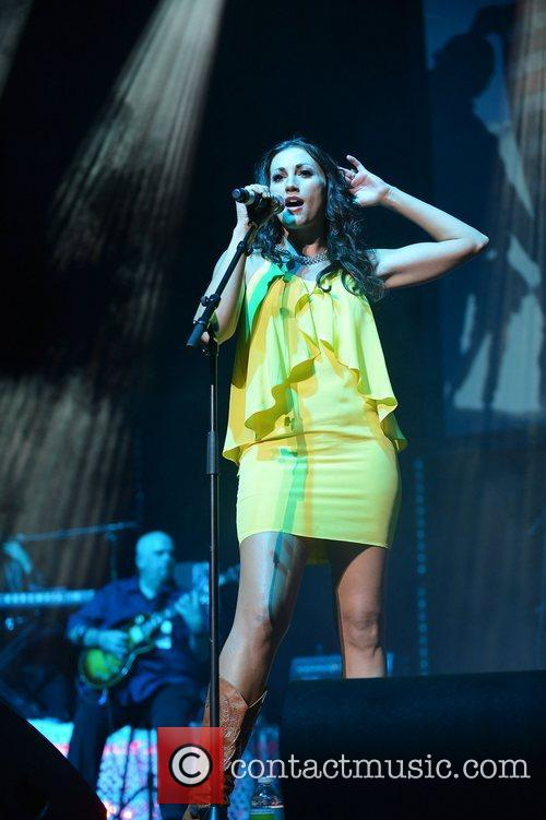 Danielle Peck, Miami Rocks Our Troops and Bank United Center 5