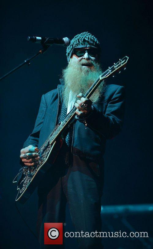 Billy Gibbons Miami Rocks Our Troops concert held...