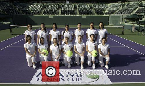 The Ball Girls and Miami Tennis Cup 2