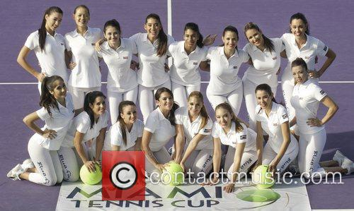 The Ball Girls and Miami Tennis Cup 9