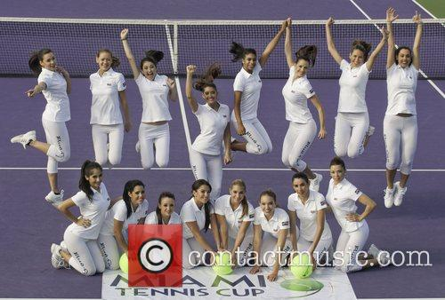 The Ball Girls and Miami Tennis Cup 6