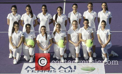 The Ball Girls and Miami Tennis Cup 3