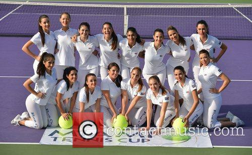 The Ball Girls and Miami Tennis Cup 5