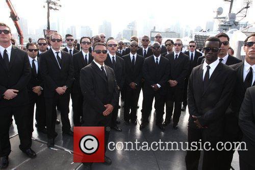 Atmosphere Men in Black 3 Photocall held at...