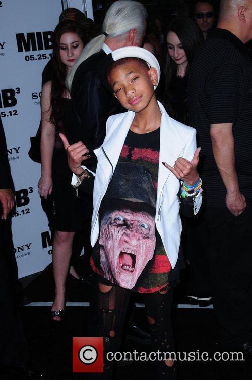 Willow Smith 1  sc 1 st  Contactmusic.com & Willow Smith - u0027Men in Black IIIu0027 New York Premiere held at the ...
