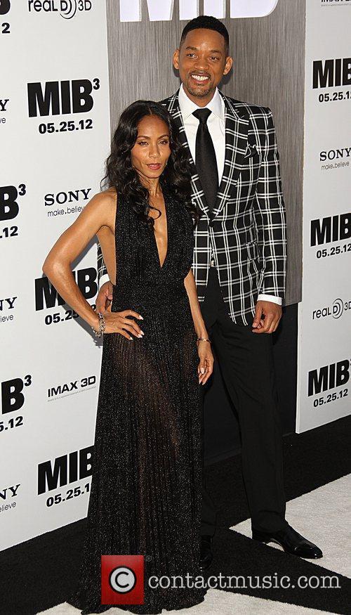 Will and Jada Smith 'Men in Black III'...