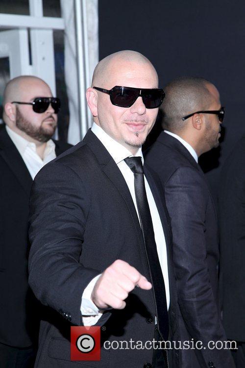 Pitbull  'Men in Black III' New York...