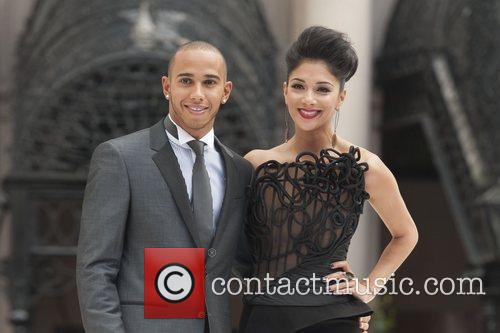 Lewis Hamilton and Nicole Scherzinger 2