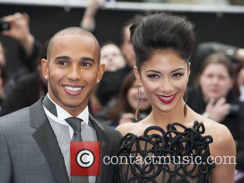 Lewis Hamilton and Nicole Scherzinger 1