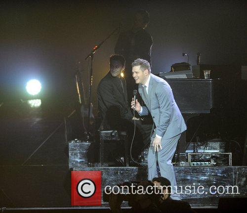 Michael Buble and Ahoy Stadium 3