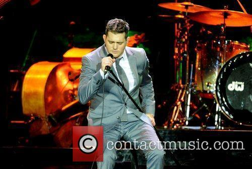 Michael Buble and Ahoy Stadium 4