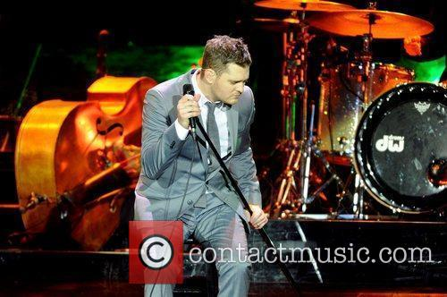 Michael Buble and Ahoy Stadium 6