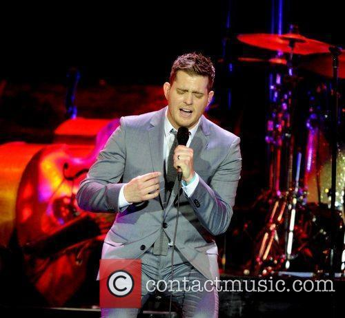Michael Buble and Ahoy Stadium 8