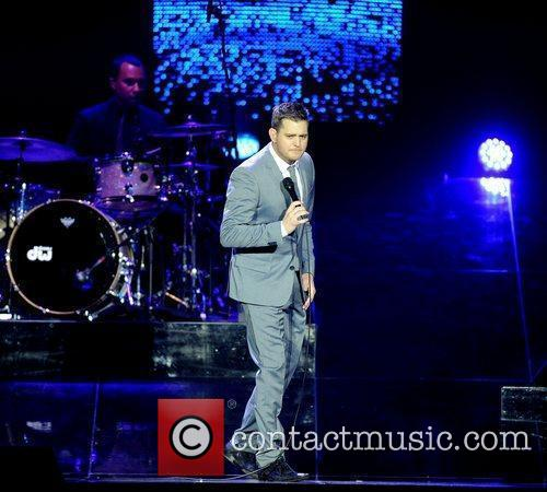 Michael Buble and Ahoy Stadium 10