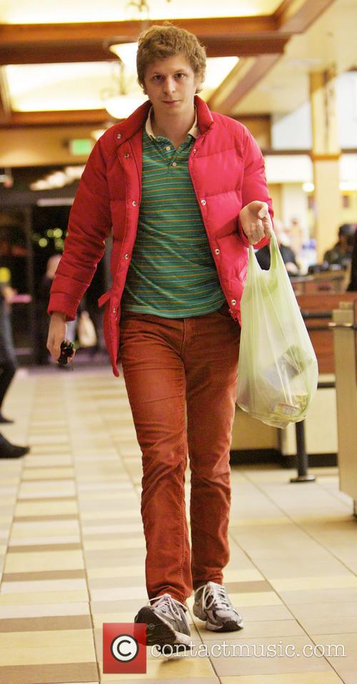 Michael Cera goes shopping for canned tuna and...