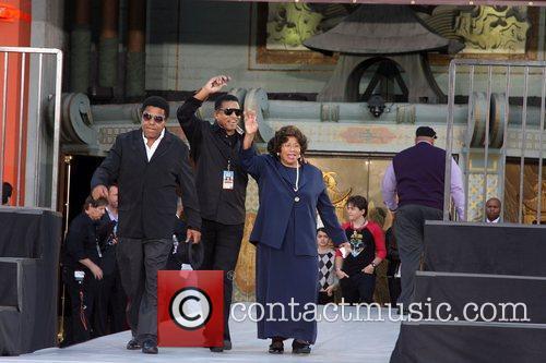 Tito Jackson, Jackie Jackson and Katherine Jackson 2