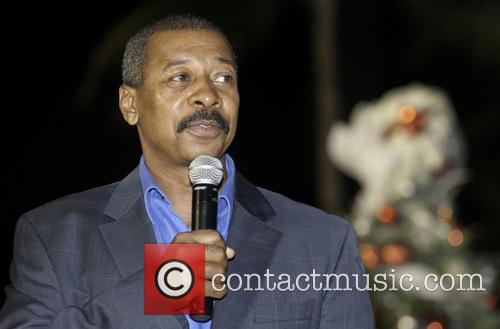 Actor, Robert Townsend, Legend Earvin, Magic' Johnson, City, Miami, Clear Health Alliance, World Aids Day, Walk, Tree and Life Lighting Ceremony 3
