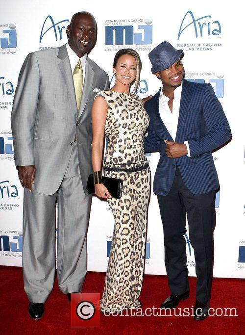 Michael Jordan and Ne-yo 8
