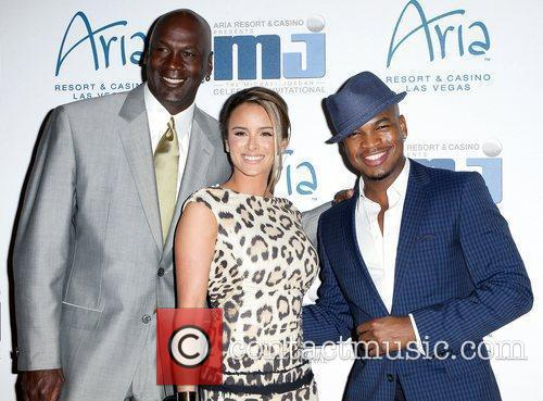 Michael Jordan and Ne-yo 9