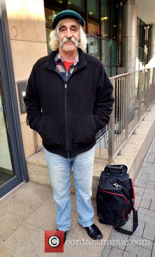 Comedian Michael Redmond  outside Newstalk studios. The...