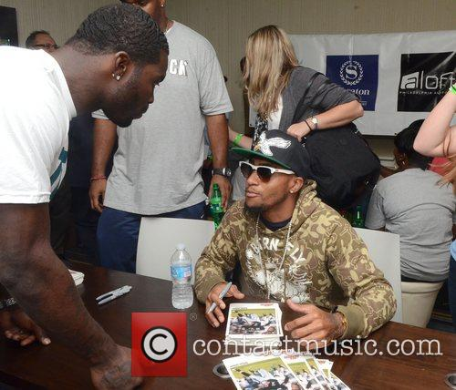 team_vick_11 DeSean Jackson,  at the launch of...
