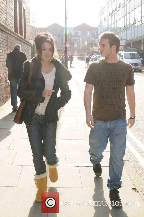 Coronation Street, Chris Fountain and Michelle Keegan 11
