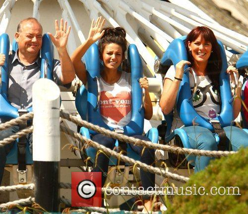 Michelle Keegan and Theme Park 10