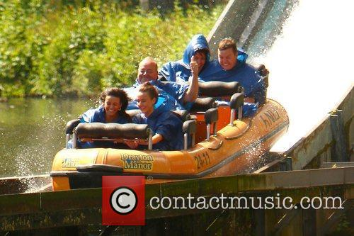 Michelle Keegan and Theme Park 29