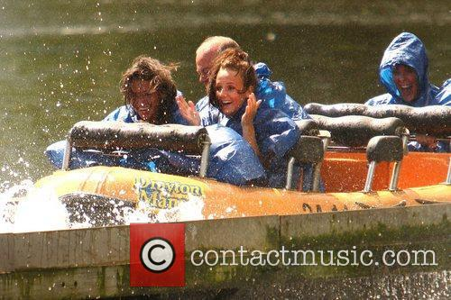 Michelle Keegan and Theme Park 39