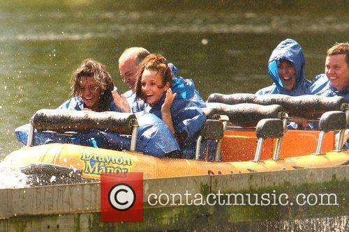 Michelle Keegan and Theme Park 44