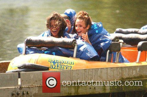 Michelle Keegan and Theme Park 49