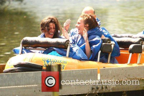Michelle Keegan and Theme Park 54