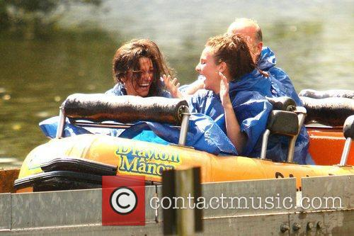 Michelle Keegan and Theme Park 59