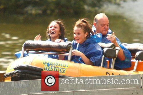 Michelle Keegan and Theme Park 64